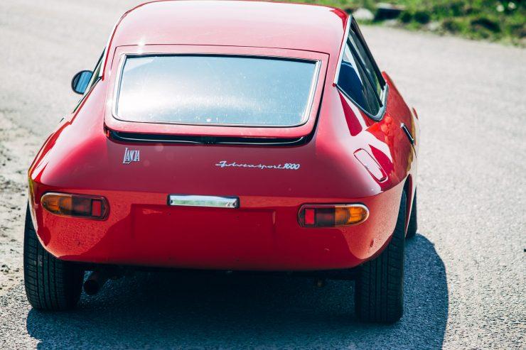 Lancia Fulvia Sport 1600 Zagato Back 1