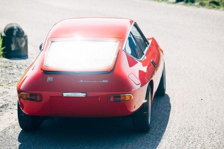 Lancia Fulvia Sport 1600 Zagato Back