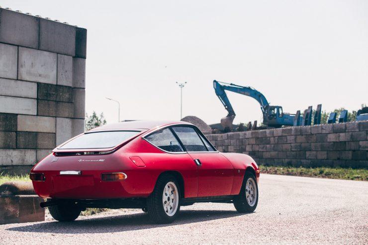 Lancia Fulvia Sport 1600 Zagato Back Side