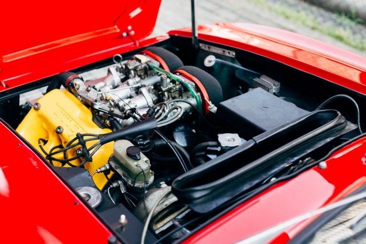 Lancia Fulvia Sport 1600 Zagato Engine