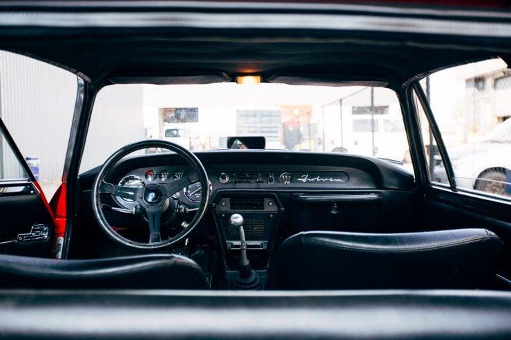 Lancia Fulvia Sport 1600 Zagato Interior 1