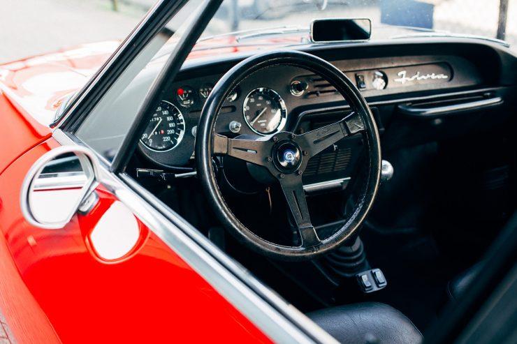Lancia Fulvia Sport 1600 Zagato Interior