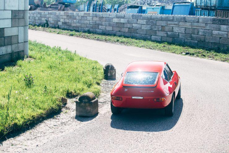 Lancia Fulvia Sport 1600 Zagato Rear