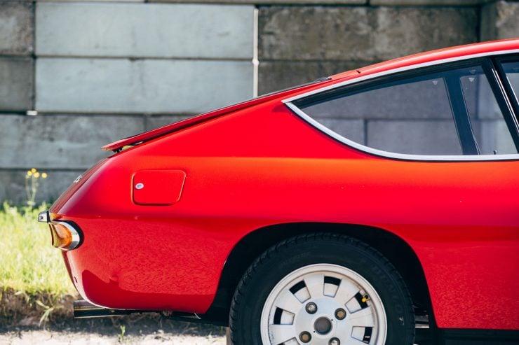 Lancia Fulvia Sport 1600 Zagato Rear Wheel
