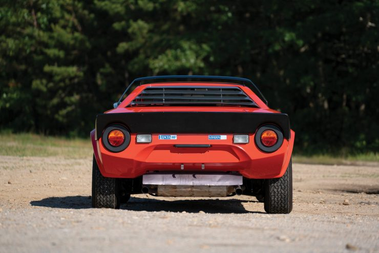 Lancia Stratos Back