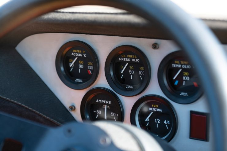 Lancia Stratos Dashboard
