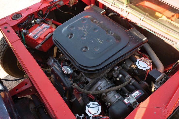 Lancia Stratos Engine