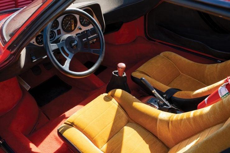 Lancia Stratos Interior