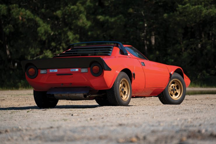 Lancia Stratos Rear 2