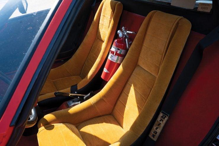 Lancia Stratos Seats