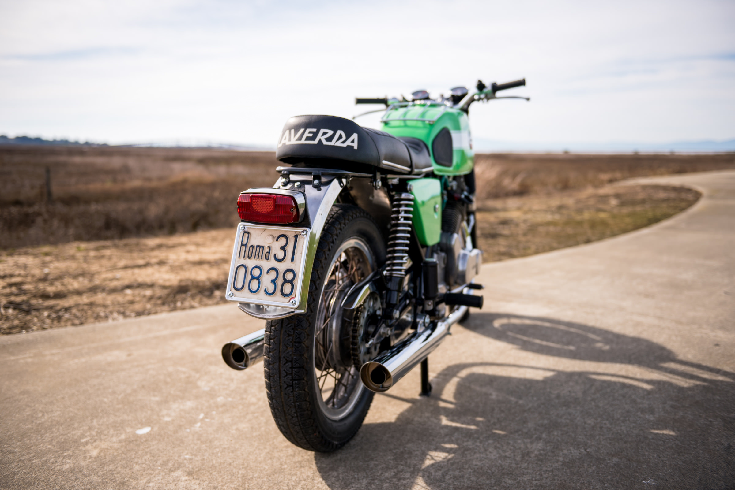 1970 Laverda Gt 750 The Big Italian Parallel Twin Honda 75cc Motorcycle