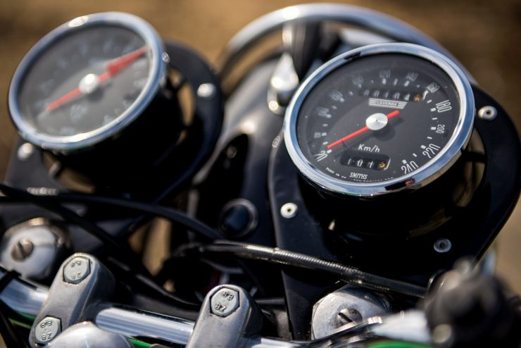 Laverda GT 750 Gauges 2