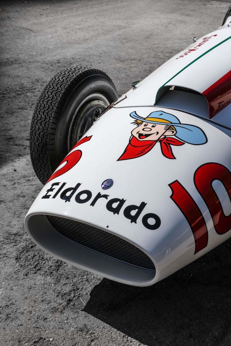 Maserati Eldorado Nose