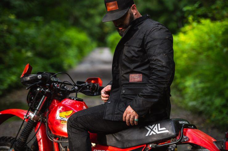 McCoy Motorcycle Jacket by Tobacco Motorwear Company 2