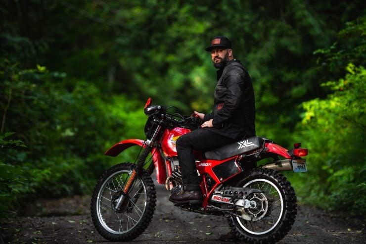 McCoy Motorcycle Jacket by Tobacco Motorwear Company