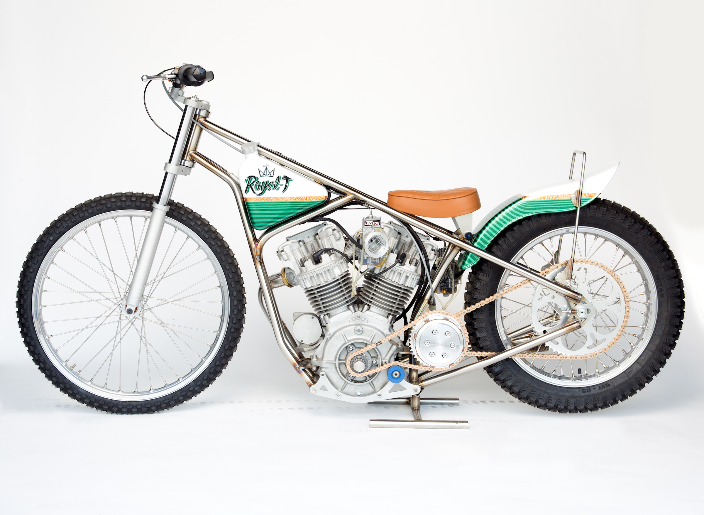 Speedway Motorcycle Racing Bikes: The Only One In The World: 1967 Meirson Sprint Motor (MSM