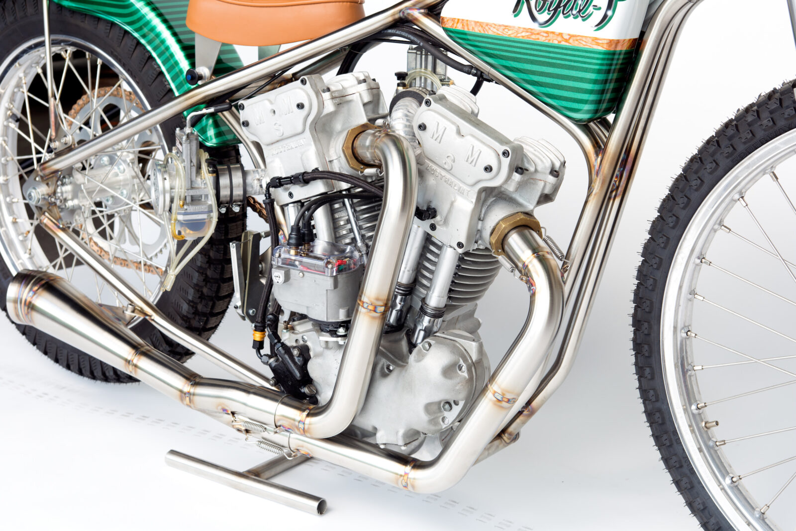 Meirson Sprint Motor MSM V Twin Prototype Speedway Bike Royal T Racing 6 1600x1067 - The Only One In The World: 1967 Meirson Sprint Motor (MSM) V-Twin Speedway Bike