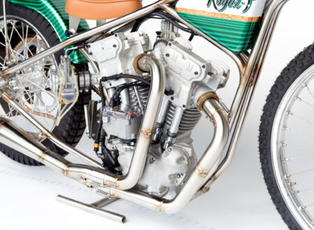 Meirson Sprint Motor MSM V Twin Prototype Speedway Bike Royal T Racing 6 450x330 - The Only One In The World: 1967 Meirson Sprint Motor (MSM) V-Twin Speedway Bike