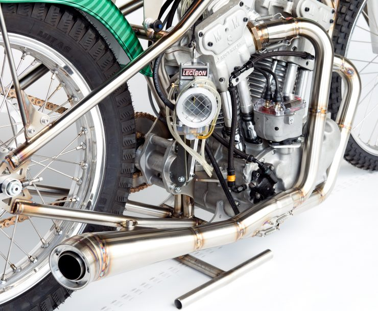 Meirson Sprint Motor (MSM) V-Twin Prototype Speedway Bike Royal-T Racing