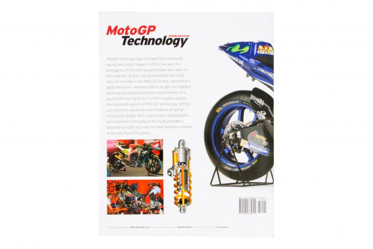 MotoGP Technology Book Neil Spalding Back