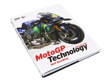 MotoGP Technology Book Neil Spalding Cover