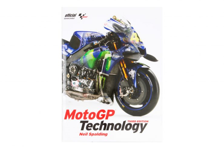 MotoGP Technology Book Neil Spalding Cover Main