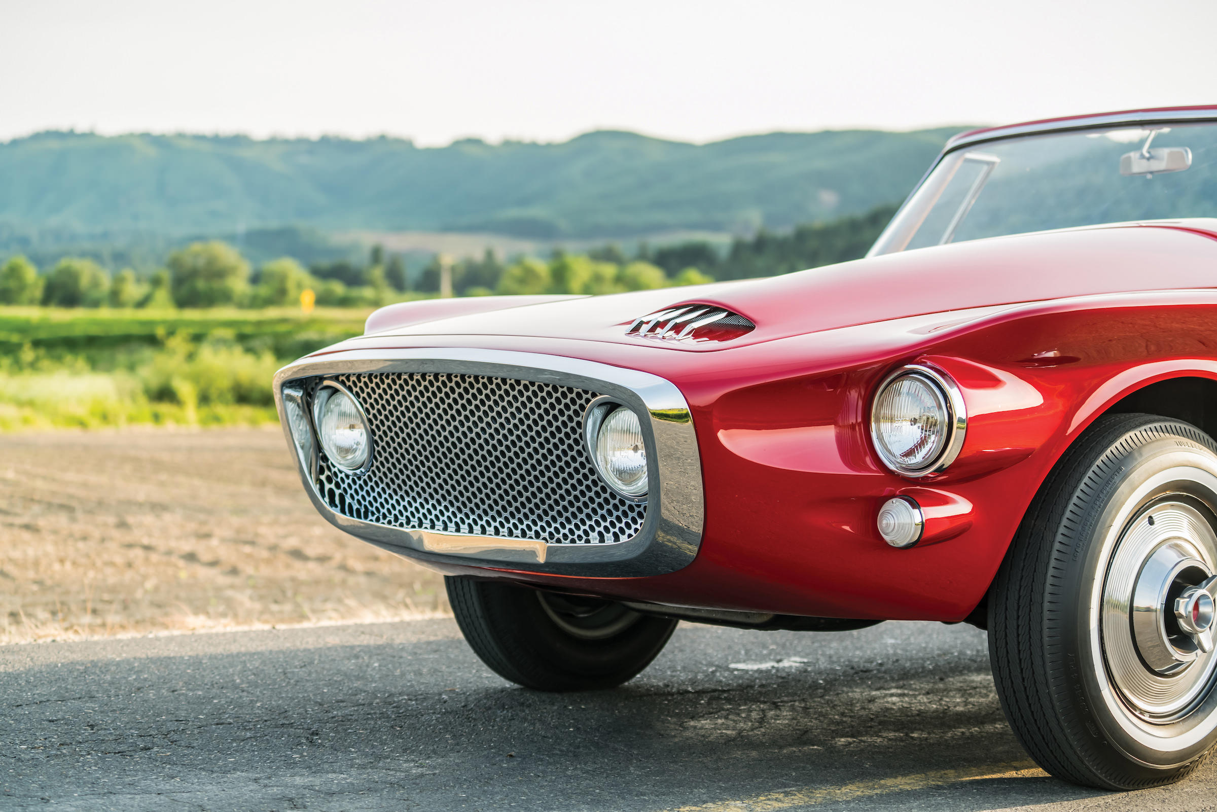 Plymouth Asimmetrica Roadster Grill