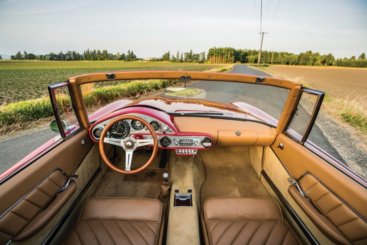 Plymouth Asimmetrica Roadster Interior 1