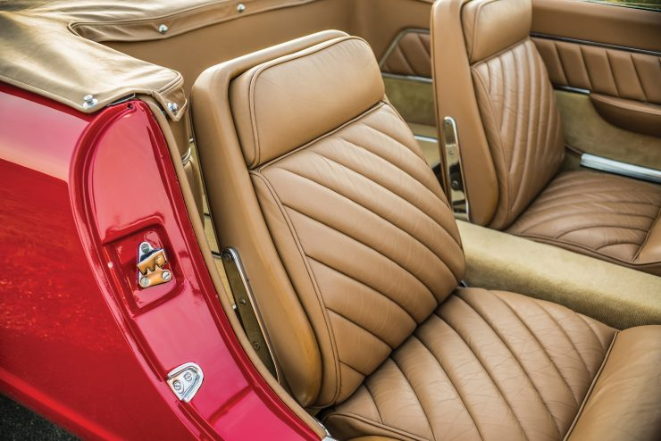 Plymouth Asimmetrica Roadster Seats