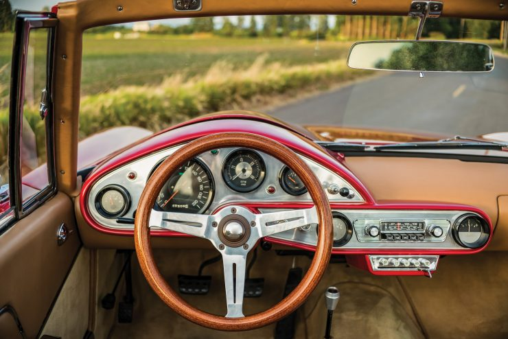 Plymouth Asimmetrica Roadster Steering Wheel
