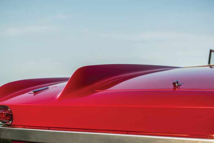 Plymouth Asimmetrica Roadster rear Fin
