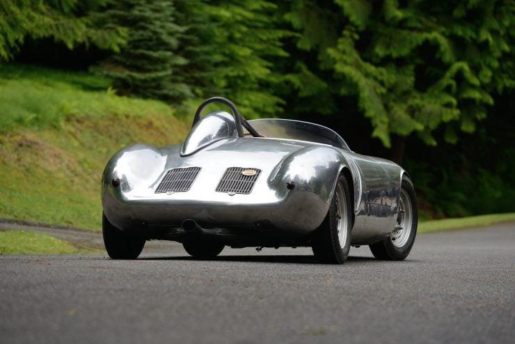 Porsche 550 A Spyder Back