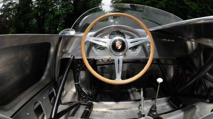 Porsche 550 A Spyder Cockpit