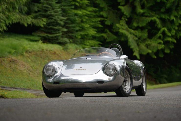 Porsche 550 A Spyder Front