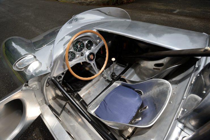 Porsche 550 A Spyder Interior