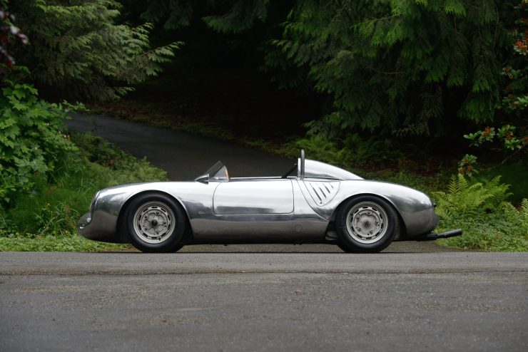 Porsche 550 A Spyder Left Side