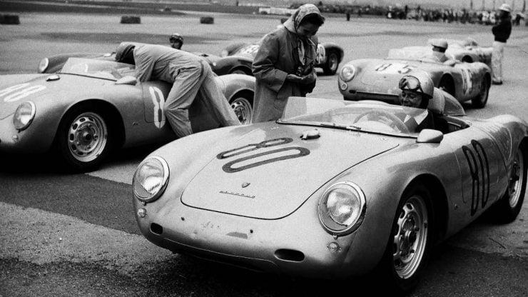 Porsche 550 A Spyder Racing