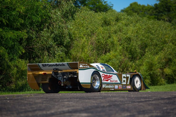 Porsche 962 Rear