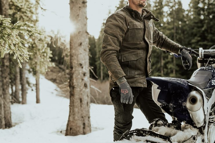 Saint Adventure Waxed Motorcycle Jacket