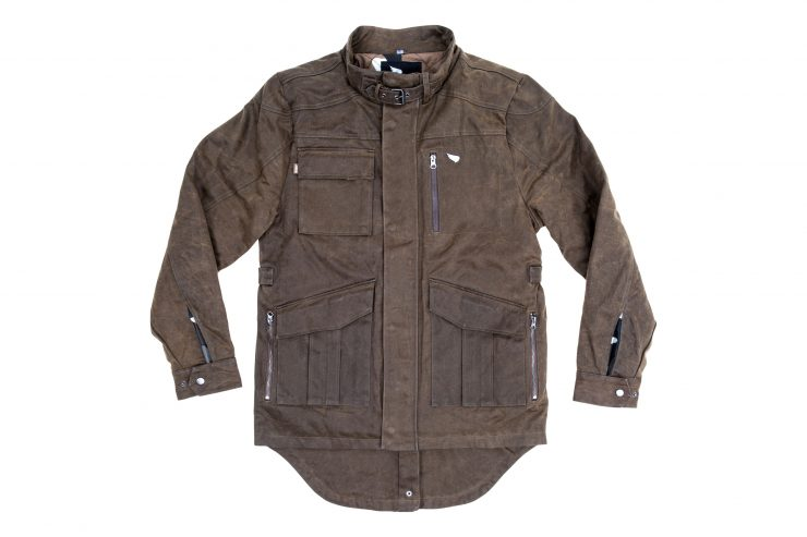 Saint Adventure Waxed Motorcycle Jacket 1