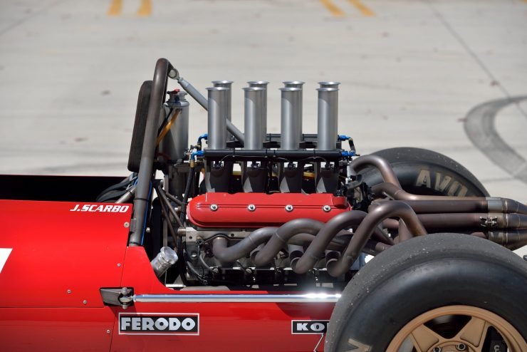 Scarbo SVF1 LS V8 Engine