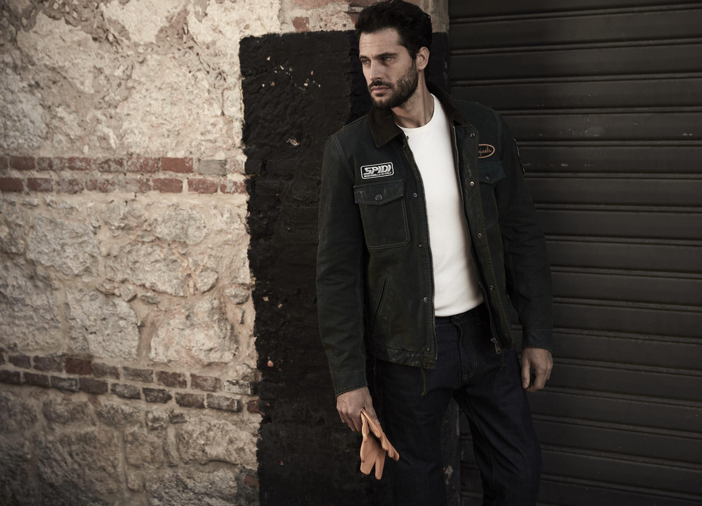 Spidi Originals Le Jacket Classic Italian Looks Modern