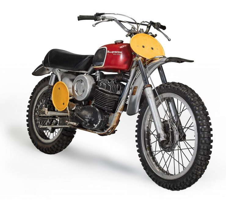 Steve McQueen's Original On Any Sunday Husqvarna 400 Cross 1