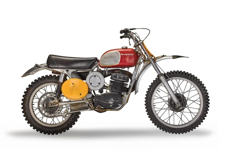 Steve McQueen's Original On Any Sunday Husqvarna 400 Cross 2