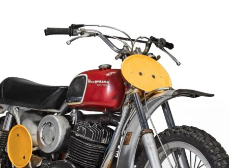 Steve McQueen's Original On Any Sunday Husqvarna 400 Cross