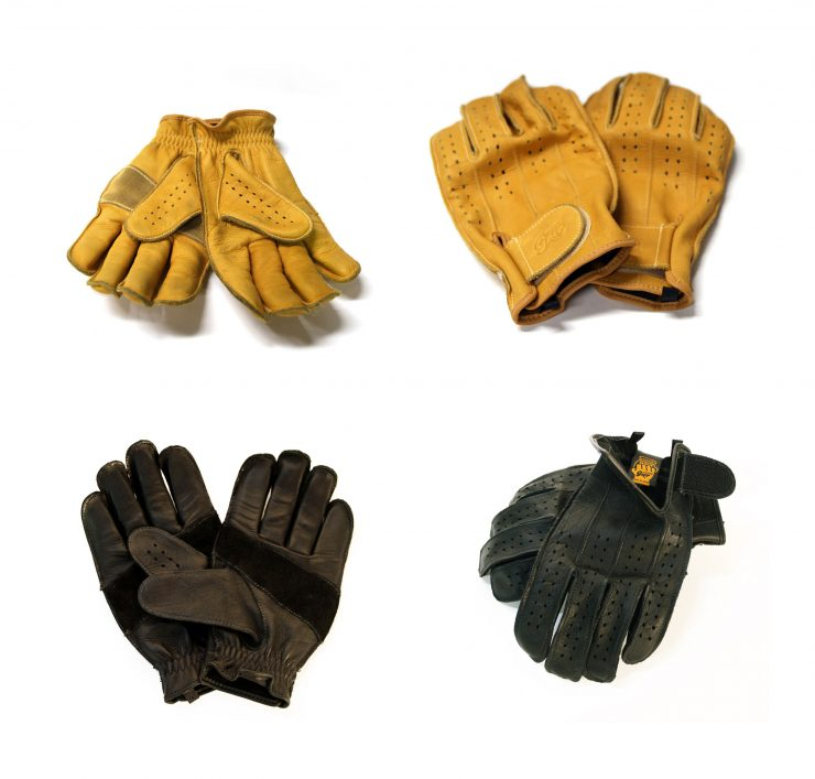 Swany Grip Motorcycle Gloves Collage