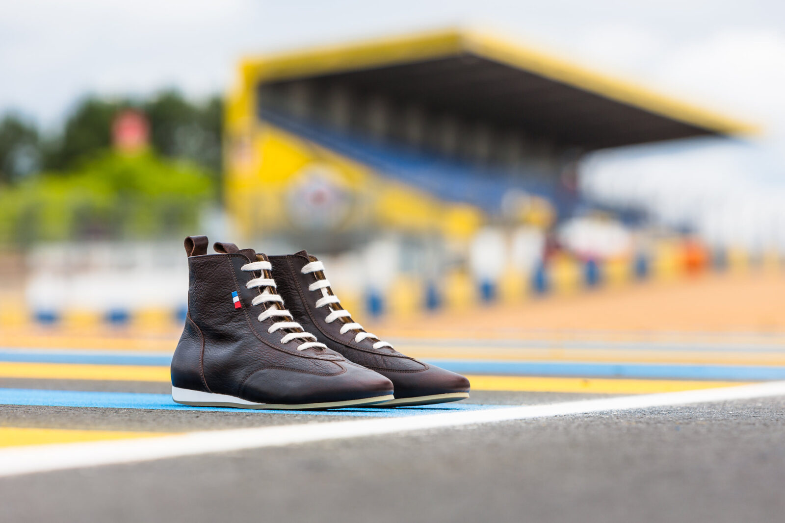 The Piloti 1923 Retro Limited Edition 24H Le Mans Driving Shoe