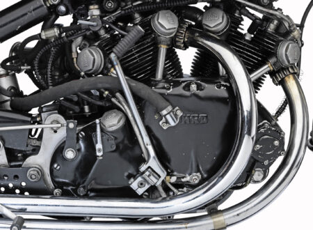 Vincent Black Shadow Lightning V-Twin Engine