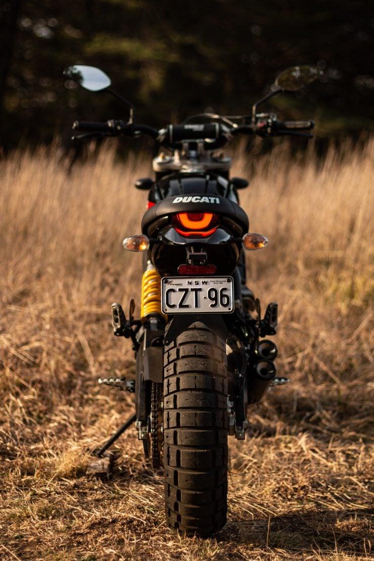 Ducati Scrambler Desert Sled Back