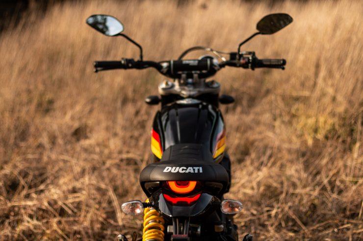 Ducati Scrambler Desert Sled Seat